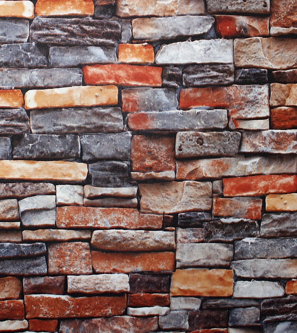 Popular faux brick buy cheap faux brick lots from china for Cheap brick wallpaper