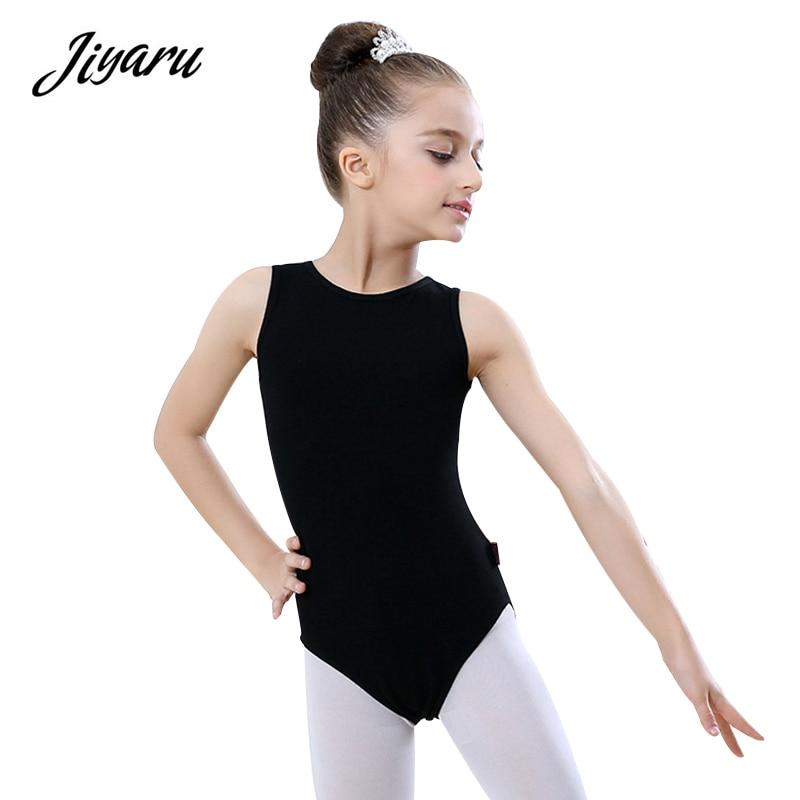 Girl Dancing Cloth Gymnastics Leotards Cotton Toddler Girls Ballet Dance Leotard Gymnastics Cloth Backless Ballet Dress Dance