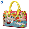Gamystye women bags Handbags Retro Handmade Bolsa Feminina Colors Portofino handbags PU Bolsos embroidery designer shoulder bags