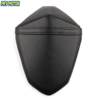 Leather Rear Seat Motorcycle Passenger Pillion For Kawasaki Z800 2013 2014 2015 2016 13 16 Black