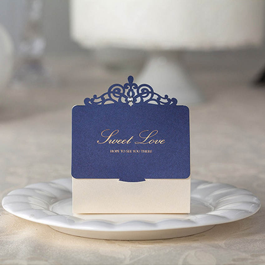 <font><b>Free</b></font> <font><b>shipping</b></font>,100 pcs/<font><b>lot</b></font>, <font><b>Navy</b></font> <font><b>Blue</b></font> <font><b>Laser</b></font> <font><b>Design</b></font> Candy Box, Wedding Gift Boxes, Candy and Gift Boxes