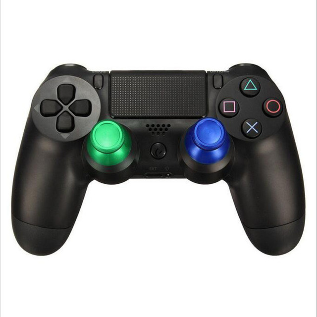 Metal Analog Joystick thumb Stick grip Cap for Sony playstation Dualshock 4 PS4 Slim Pro XBOX ONE Gamepad Controller thumbstick 4