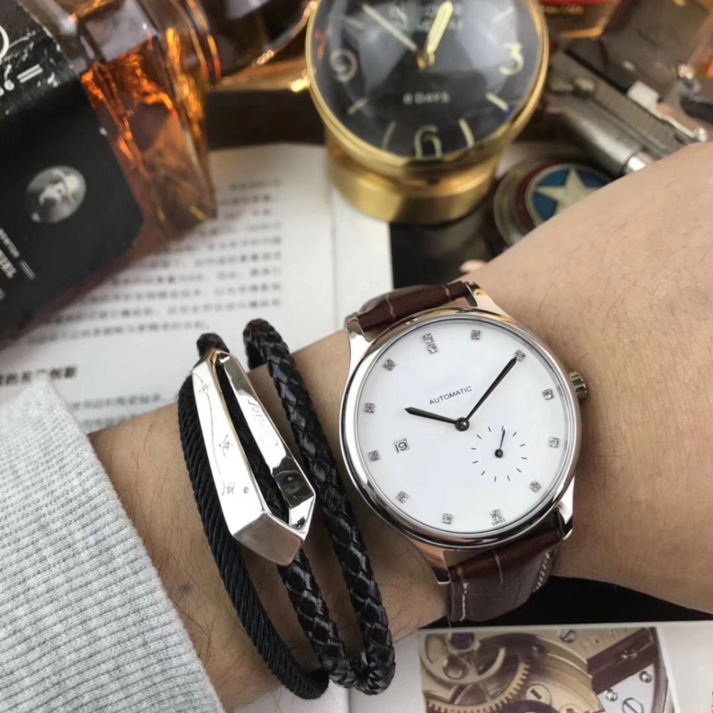 Mens Watches Top Brand Runway Luxury European Design Automatic Mechanical Watch S0739 usb pc to pc smart data link cable white