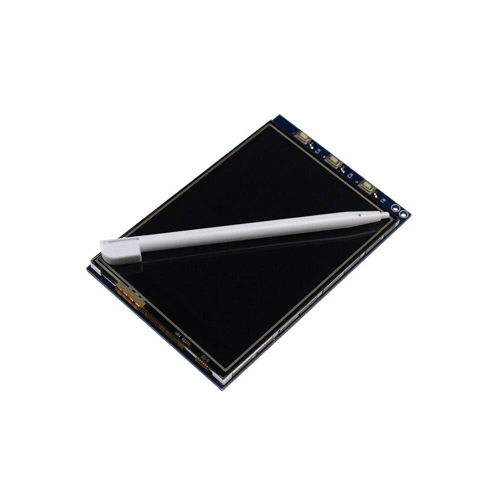 Бесплатная Доставка! 2014 Новое Прибытие 1 Шт. 3.2 Дюймов Сенсорный ЖК-Экран Монитора Модуль Для Raspberry Pi 3 B +