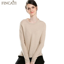 Sweater Women 100% Pure Cashmere Spring Autumn Cable Knitted Asymmetrical Split Hem Soft Bottom Shirt Pullover Jersey Pull Femme