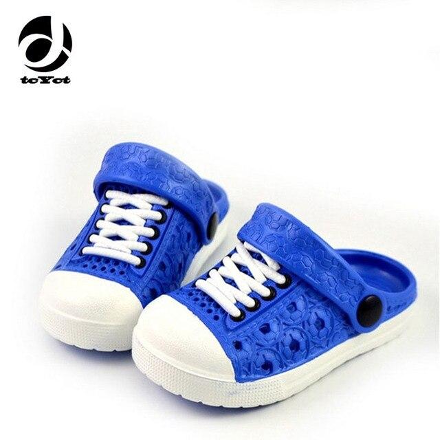 525747cce9a69 2016 nuovi bambini di estate imitazione pizzo scarpe per ragazzi e ragazze  sandali pattini del foro