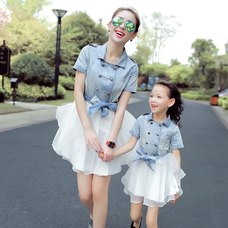 aliexpress  buy mommy and me mother daughter dresses