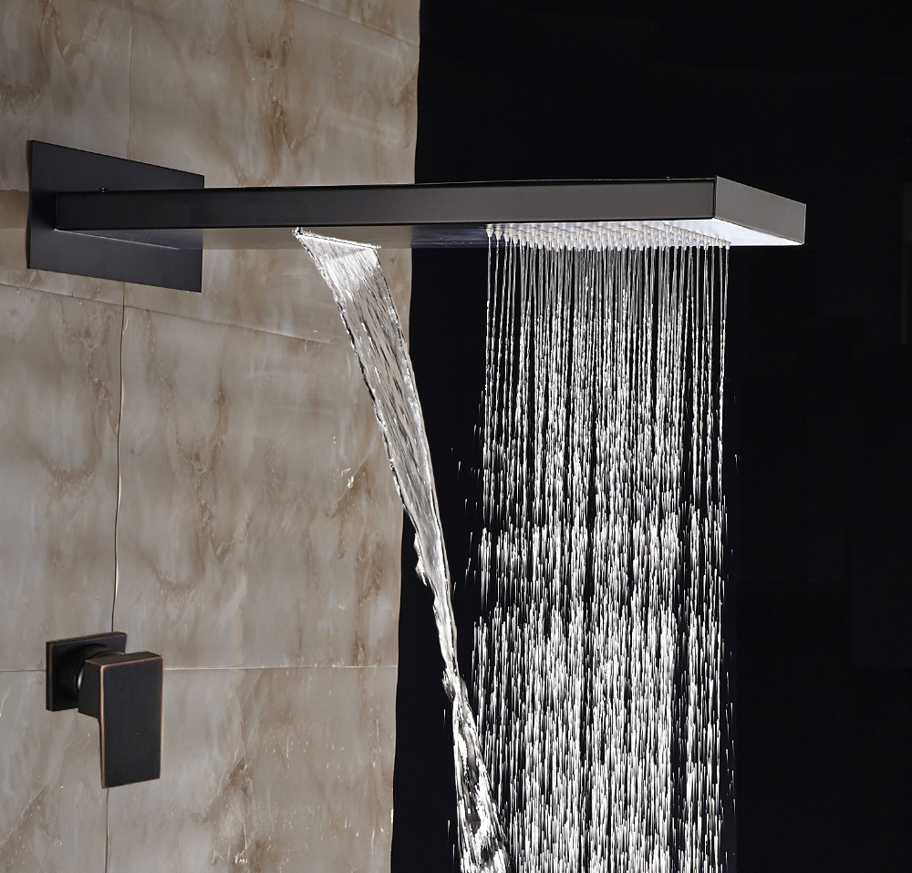 quality best rainfall product description polished waterfall short set ceiling shower embed