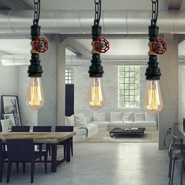 Rustique Lampes Suspendues Industrielle Vintage Lampe Suspension