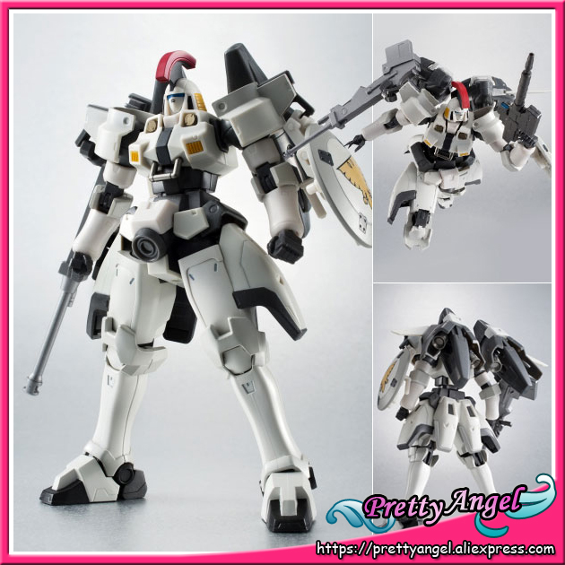 Japanese Anime Original Bandai Tamashii Nations Gundam W Robot Spirits No.134 TALLGEESE Action Figure original bandai tamashii nations robot spirits exclusive action figure rick dom char s custom model ver a n i m e gundam