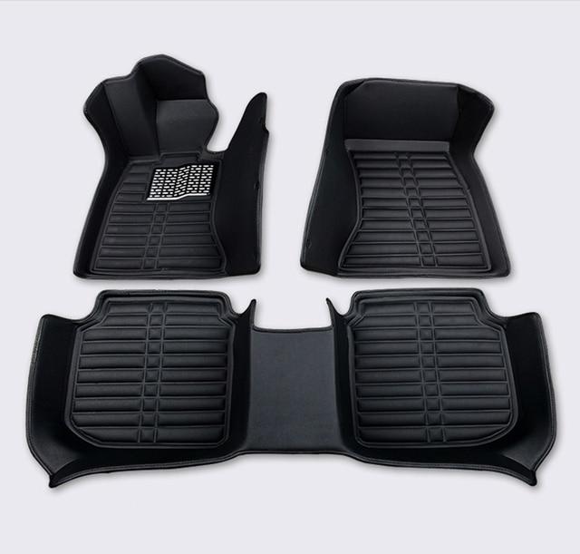 Custom-100fit car floor mats all model For Volkswagen mazda nissan peugeot Chevrolet volvo kia Honda car accessories car arpet