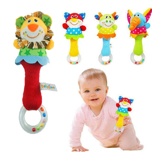Soft Animal Handbells Educational toys