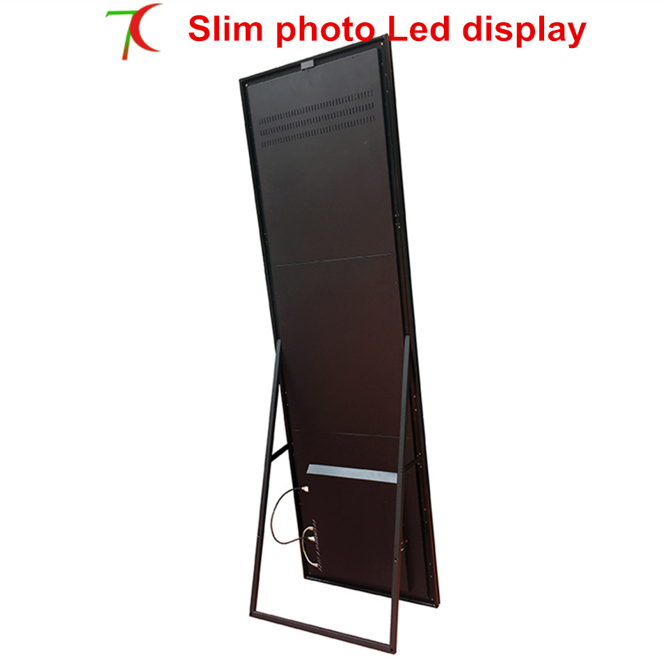1950mm*510mm P2.5/P3 Ultra-thin Advertisement Poster Machine Led Display