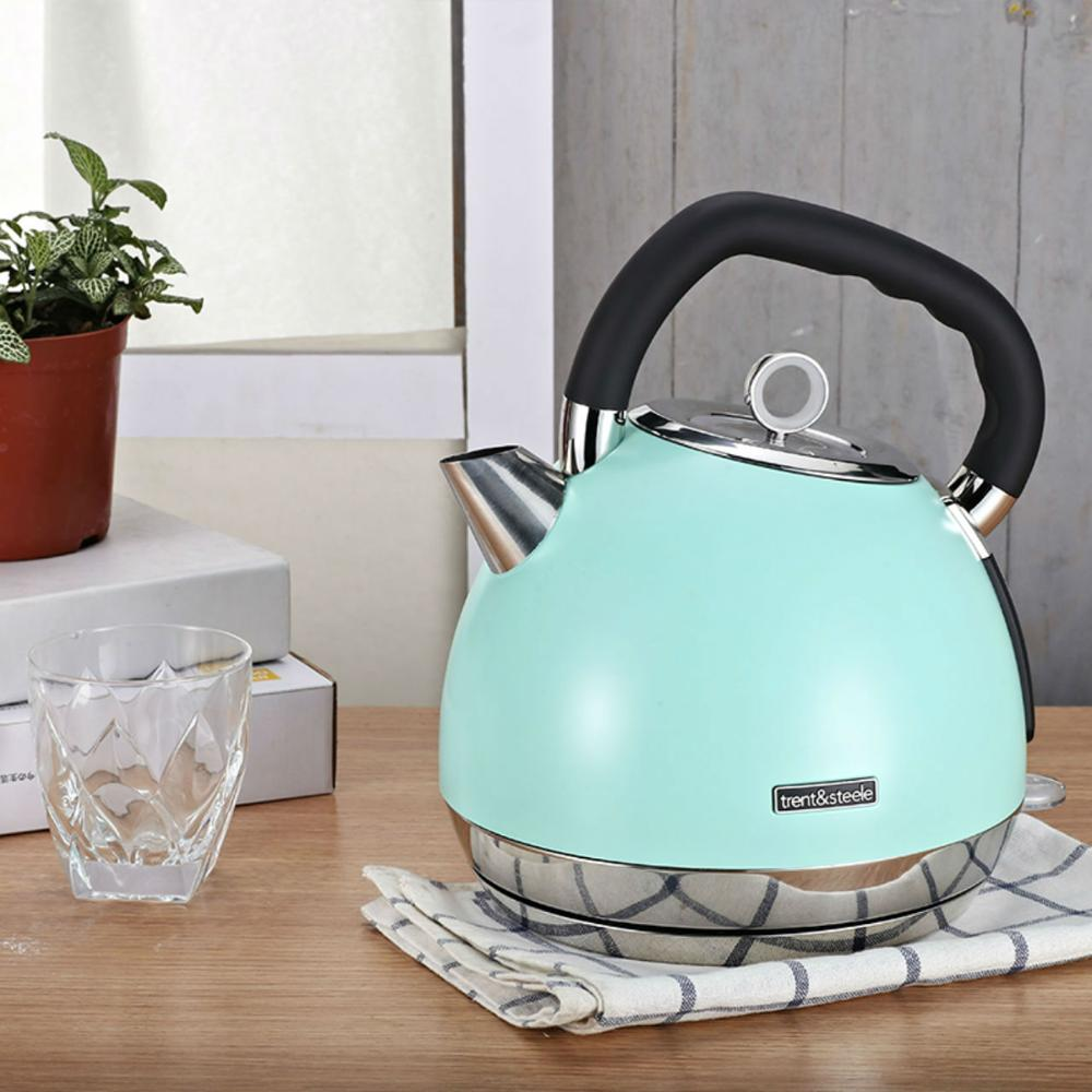 220V  304 Stainless Steel Electric Kettle With Water Temperature Control Household 1800W Quick Heating Electric Tea Pot 1.8L Electric Kettles     - title=