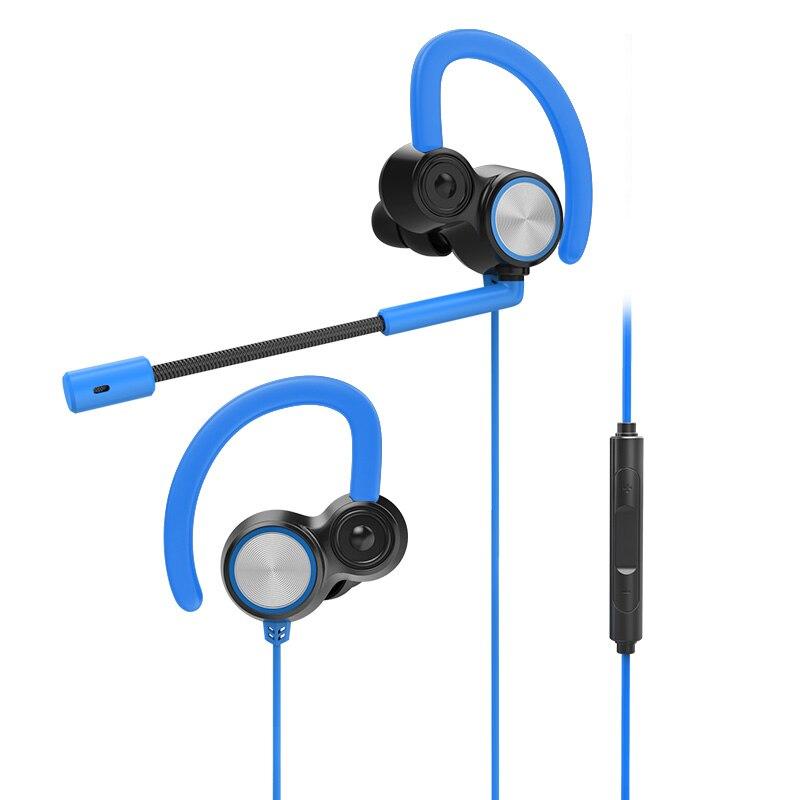 Gaming Headset With Microphone Earphone Headphone Phone PC Laptop Original Genuine For Gamer 3.5MM Brand V6