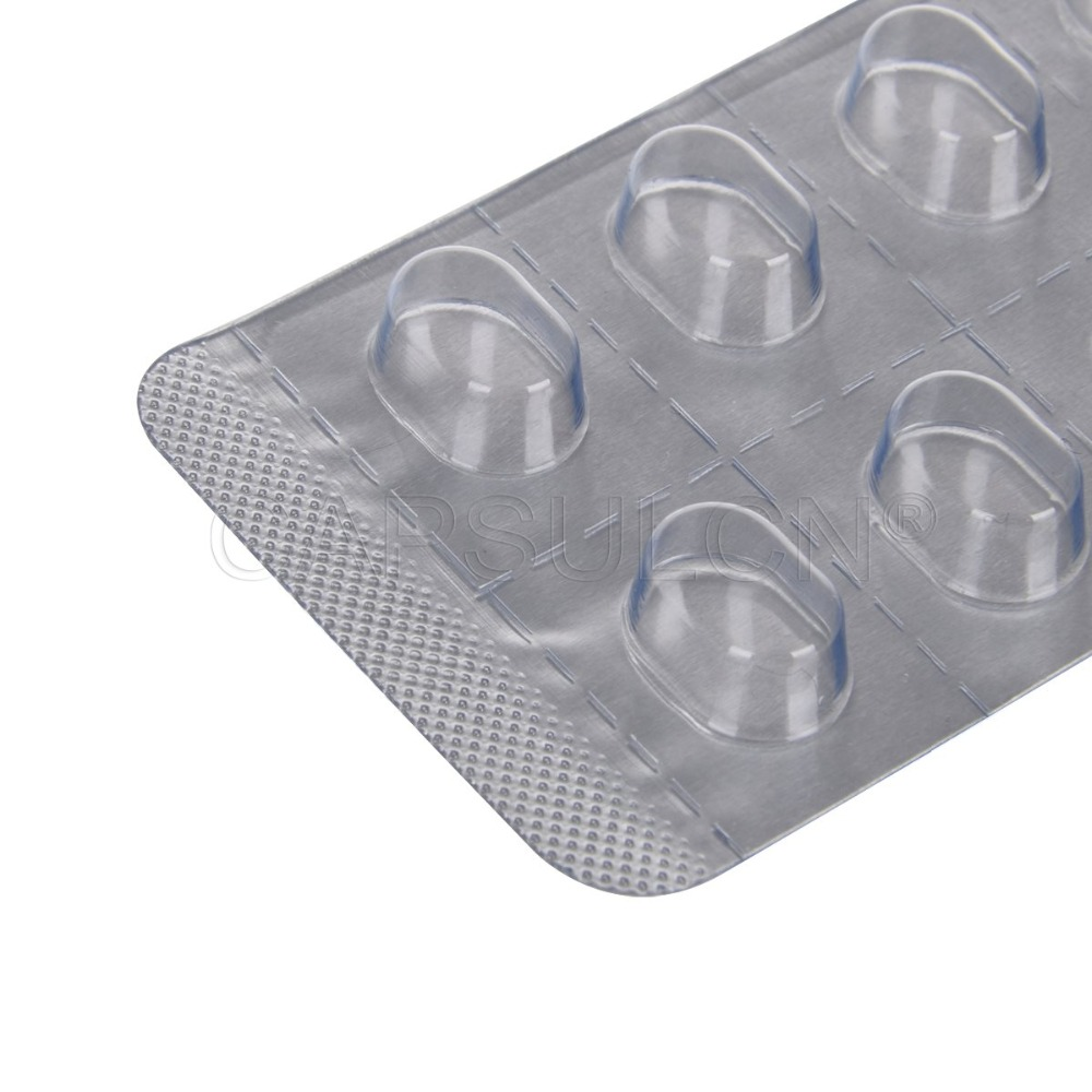 10 Holes 1000 Pcs Blister Pack Machine Sheet For 9*5.5*4mm Tablets