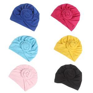 Image 2 - 여성 인도 매듭 보닛 케모 캡 터번 모자 비니 헤드 스카프 랩 라마단 탈모 이슬람 모자를 쓰고 있죠 모자