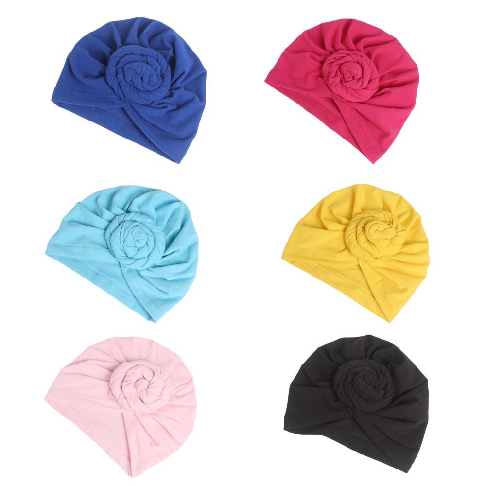 Image 2 - Women Indian Knot Bonnet Chemo Cap Turban Hats Beanie Head Scarf  Wrap Ramadan Hair Loss Islamic Headwear Inner HatWomens Skullies