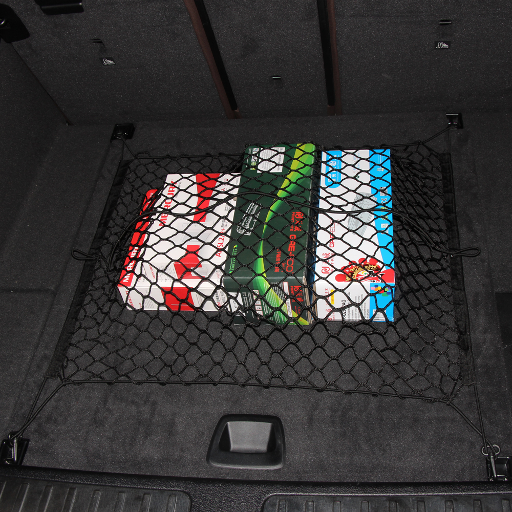 Car styling,Floor Style Car Trunk Cargo Net Fit SUV For Volkswagen Tiguan  Touareg Skoda Yeti Porsche cayenne  Macan