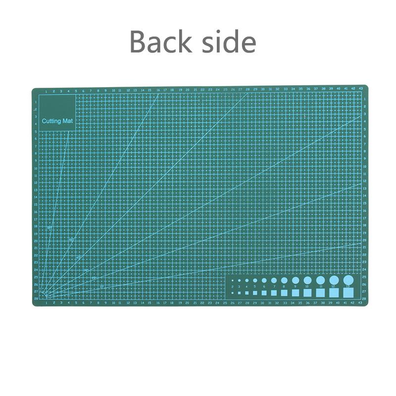 A1-4 PVC Self Healing Rotary Cutting Mat Double-Sided Quilting Grid Lines Printed Board DIY Patchwork Craft Tools Cutting Board