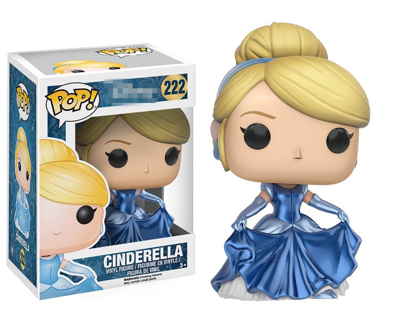 Exclusive Funko pop Official Cinderella Shimmering Dress Vinyl Figure Collectible Model Toy with Original Box  funko pop official spider man homecoming spiderman new suit vinyl action figure collectible model toy with original box