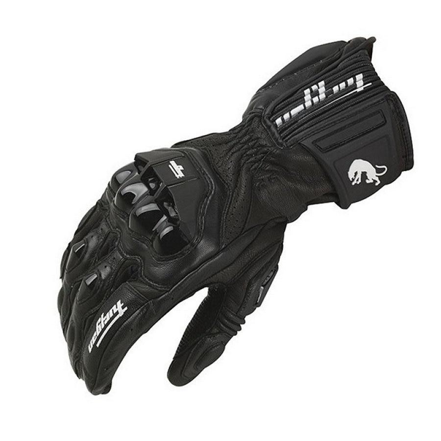 Hiver Moto gants coupe-vent Furygan AFS18 Plein doigt gants de course Motocross Luvas Véritable En Cuir Moto Guantes