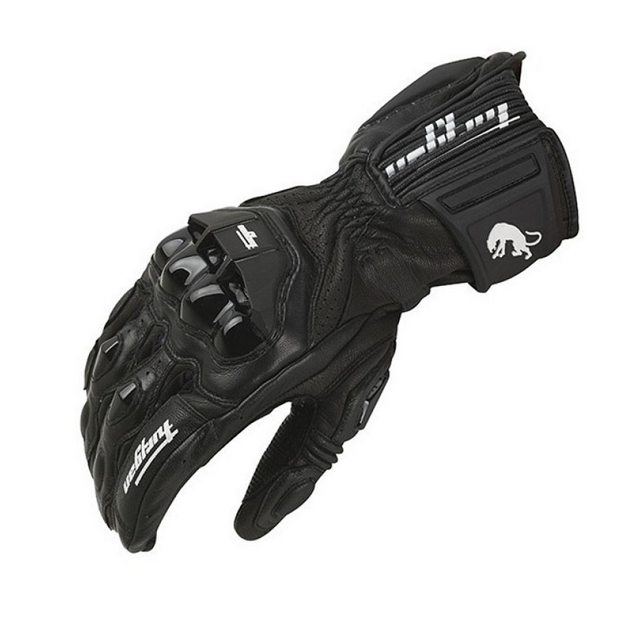 Winter Motorrad Winddicht Handschuhe Furygan AFS18 Volle finger Racing Handschuhe Motocross Luvas Echtem Leder Moto Guantes