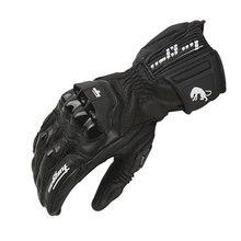 Winter Warm Motorrad Wasserdichte Handschuhe Furygan AFS18 vollfinger Racing Handschuhe Motocross Luvas Echtem Leder Guantes Moto