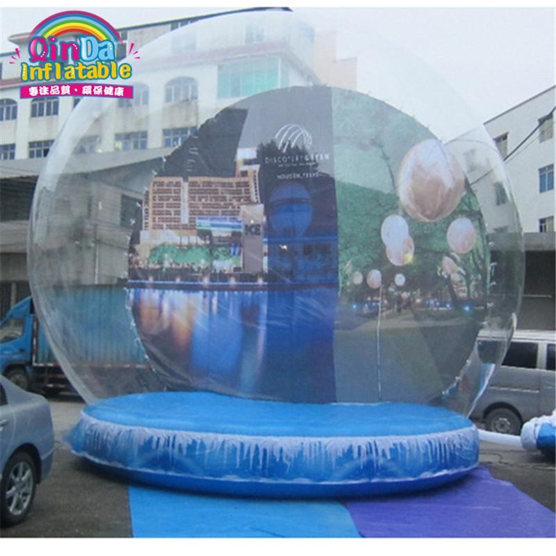 inflatable snow globe36