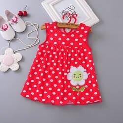 Платья для малышей наивысшего качества, модель 2018 года, платье принцессы для девочек 0-1 лет, хлопковое платье, летняя одежда для девочек по