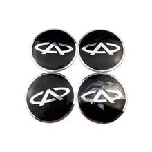 Cubo de carro criativo centro emblema adesivos peças de automóvel decoração para chery fulwin arrizo qq tiggo 3 5 t11 a1 a3 a5 amuleto m11 fora