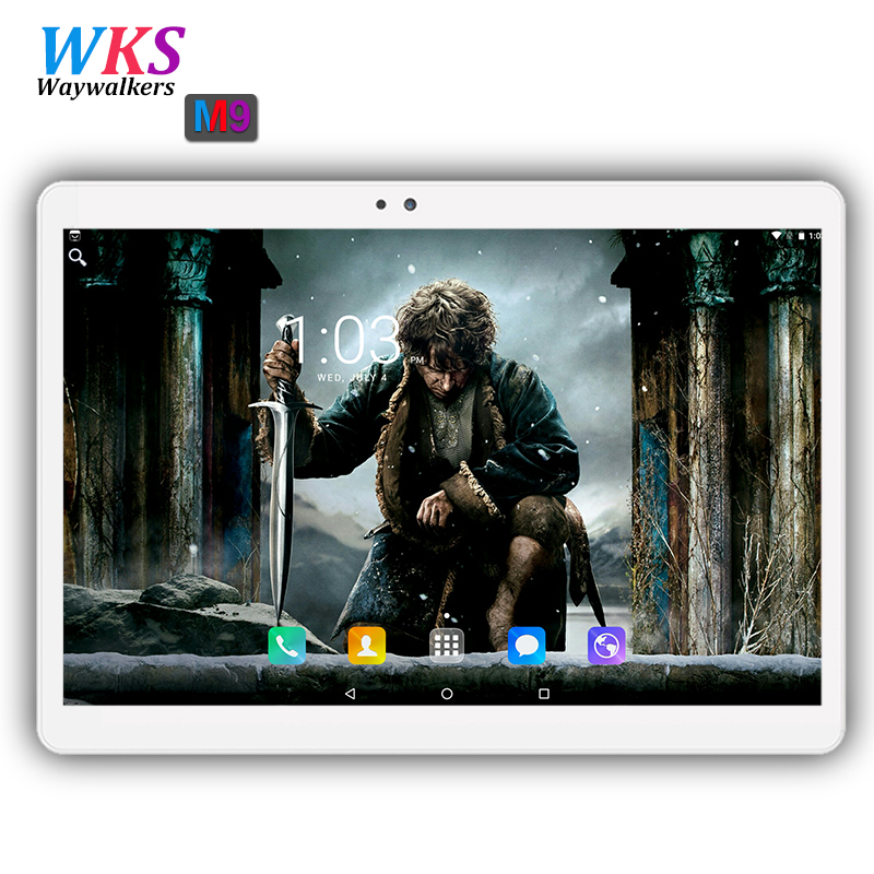 2018 Android tablet 10 inch Octa Core 3G 4G FDD LTE 4GB RAM 64GB ROM 1920*1200 IPS Dual SIM card Bluetooth WIFI Tablets 10 10.1 10 inch tablet pc android 7 0 1920 1200 ips 4gb ram 128gb rom 4g fdd lte phone call octa core gps tablet wifi bluetooth