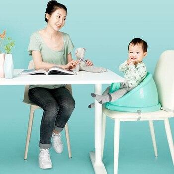 переносной стол и стулья   QBORN CQ01 детский стул для кормления комфортное портативное сиденье-усилитель с поднос из ПП регулируемый обеденный стул безопасный стол стул ...