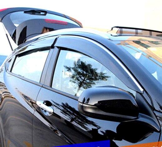 FIT FOR 2014 2015 2016 HONDA HRV HR-V VEZEL SIDE WINDOW TRIM RAIN DEFLECTORS & Popular Honda Fit Visor-Buy Cheap Honda Fit Visor lots from China ... Pezcame.Com