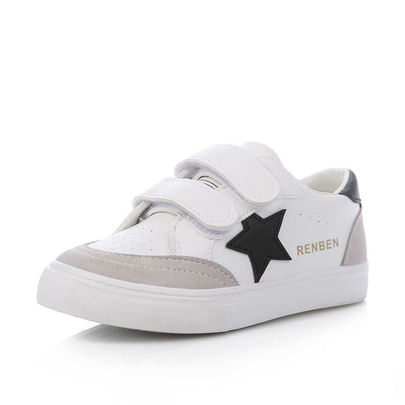 Kids shoes for girl boys shoes Artificial leather 2017 spring autumn new boys girls shoes white