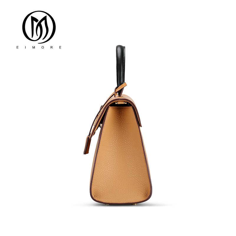 EIMORE 2019 новая женская сумка из натуральной кожи женская сумка-мессенджер роскошные дизайнерские женские модные сумки на плечо сумка из натуральной кожи