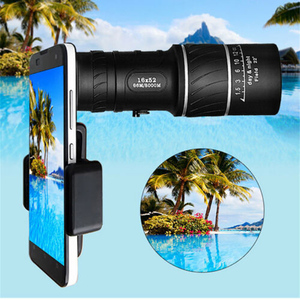 Image 4 - HD 16x Zoom Lens Telescope Camera With Clip For iPhone XS MAX Samsung Note 9 8 S9 Plus Universal Lens