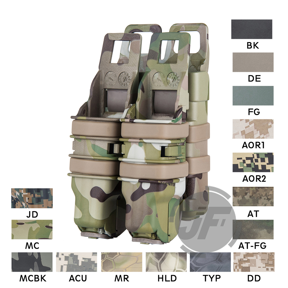 Tactical FastMag M4 5.56 .223 & Pistol Magazine Pouch Ammo Mag Holster Quick Reload Heavy Fast Mag For MOLLE PALS System