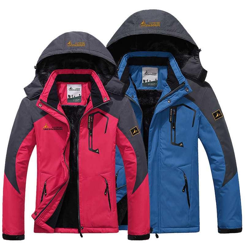 Men Women Outdoor Sports Coat Windproof Waterproof Warm Winter Technical Jacket Mountain Wear Snowboarding Bike Cycling Jacket men and women winter ski snowboarding climbing hiking trekking windproof waterproof warm hooded jacket coat outwear s m l xl