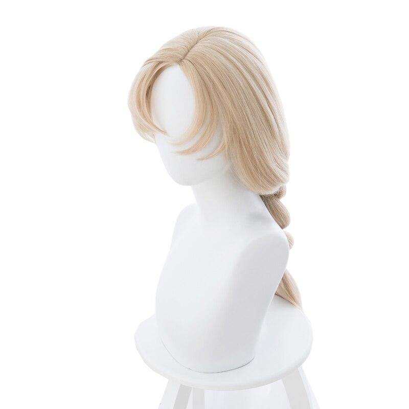 Anime Hataraku Saibou Macrophage Braid Long Wig Cosplay Costume Cells at Work Women Synthetic Hair Halloween Party Wigs