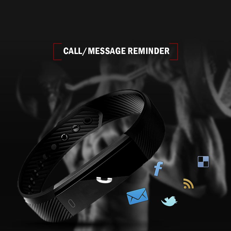 Image 5 - Bluetooth Smart Wristbands sport fitness tracker armband for Pedometer Sleep Tracker Call Reminder  Remote Control Social Media-in Smart Wristbands from Consumer Electronics