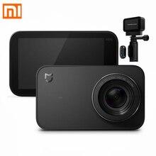 Version internationale Xiao mi jia caméra daction 4 K Ambarella A12S75 1080 P HD vidéo WiFi sous marine étanche mi Sport caméra