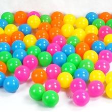 100 Pcs/Bag Eco-Friendly Colorful Ball Soft Plastic Ocean Ball Funny Baby Kid Water Pool Ocean Wave Ball Swimming Pool Ball