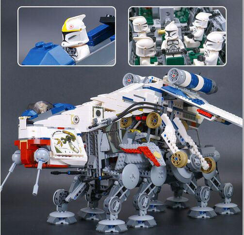 New Lepin 05053 Genuine Star Series War The Republic Dropship Set Building Blocks Bricks Children Toys 10195 Educational Gifts