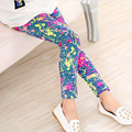 Kids Children Girl Leggings Milk Silk Printing Flower Baby Girls Legging Spring Autumn Fashion Cotton Babys Girl Pants 2-11 Year