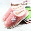 Женская обувь Зима Теплая Ful Тапочки Женщин Тапочки Хлопок Овец Любителей Домашние Тапочки Крытый Мягкая Подошва Плюшевые Обувь
