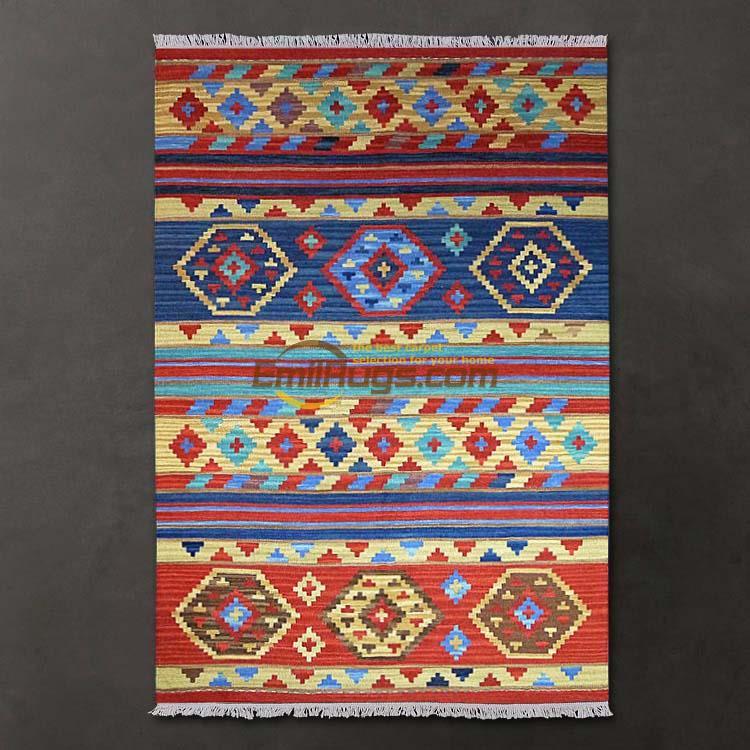 Style bohème méditerranéen oriental/jilimu/KILIM tapis expression nordique avec 125 CM * 185 CM gc137-22yg4
