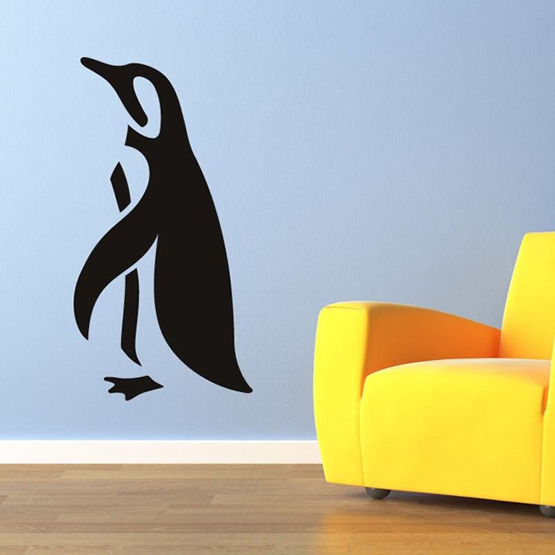 simple design self adhesive vinyl animal wall sticker diy home decor