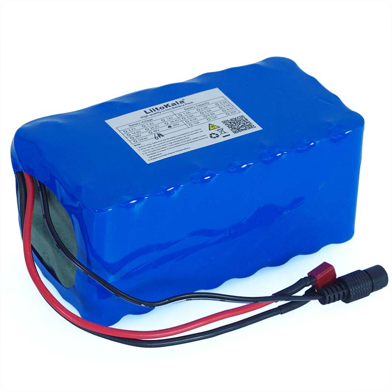 Image 4 - LiitoKala 16S2P 60V 6Ah 18650 Li ion Battery Pack 67.2V 6000mAh Ebike Electric bicycle Scooter with 20A discharge BMS 1000Watt-in Battery Packs from Consumer Electronics