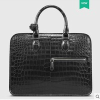 Cestbeau Nile crocodile Whole leather crocodile belly man bag crocodile bag side one shoulder business briefcase